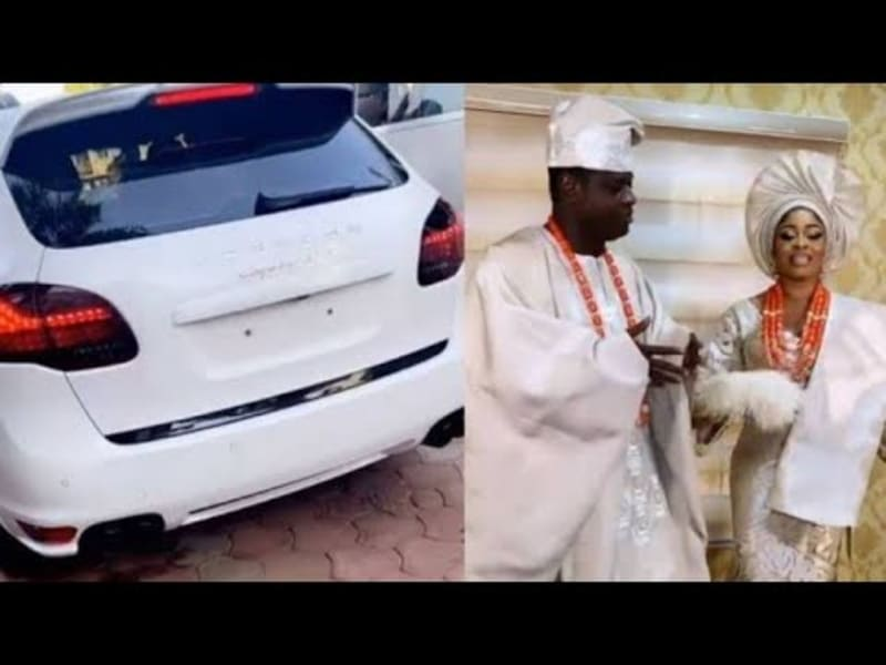 Malivehood Buys A Porsche For His Wife As Wedding Gift