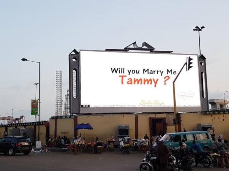 How A Nigerian Man Proposed To His Girlfriend