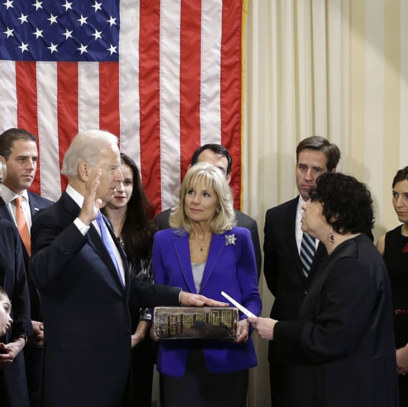 Biden Will Be Sworn In With 127-Year-Old Family Bible