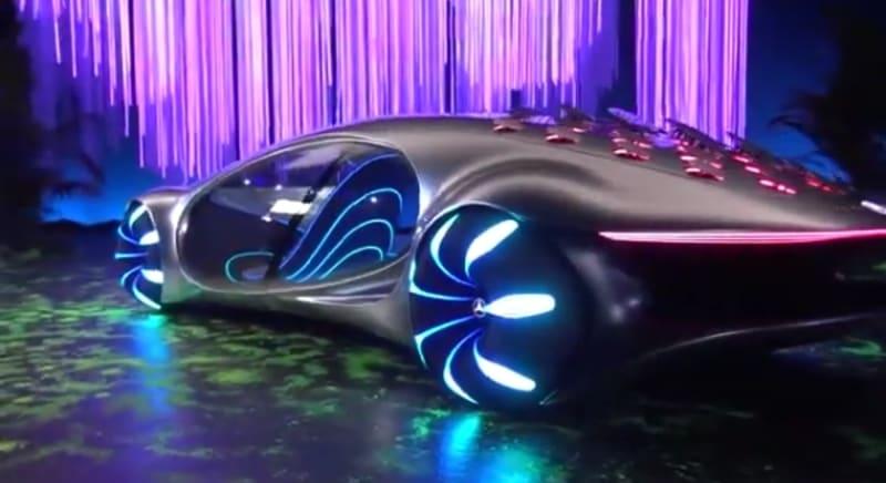 A closer look at the 2020 Mercedes Benz AVTR