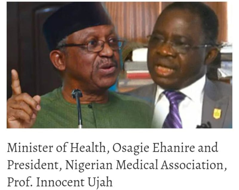21-Day Notice: Strike Dangerous Now, FG Begs Doctors, NMA, Ministry Disagree