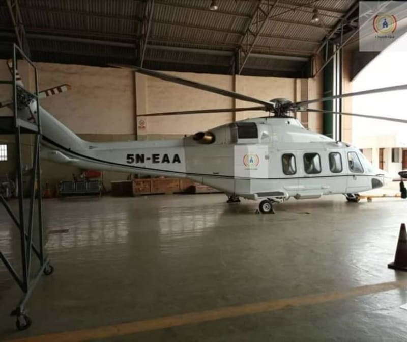 Pastor Adeboye Buys New Helicopter For Rural Evangelism