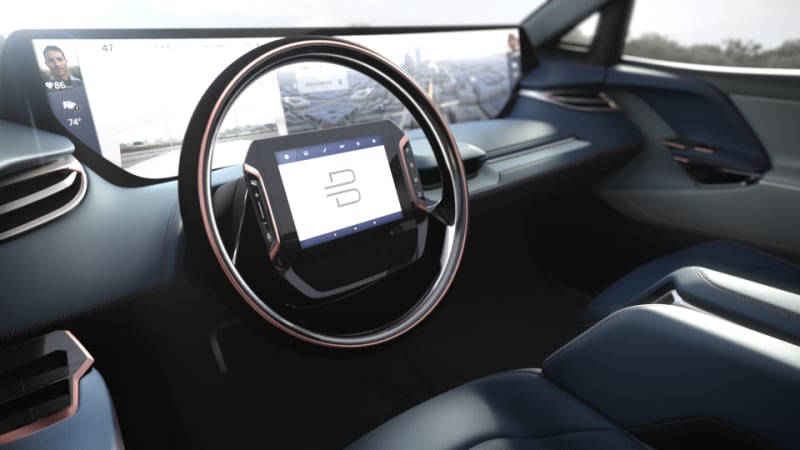Byton Unveils 323mile 5g-enabled Electric SUV