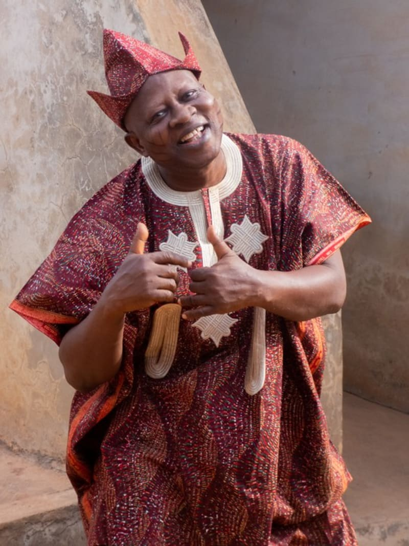 New Pictures Of Veteran Yoruba Actor, Aderupoko