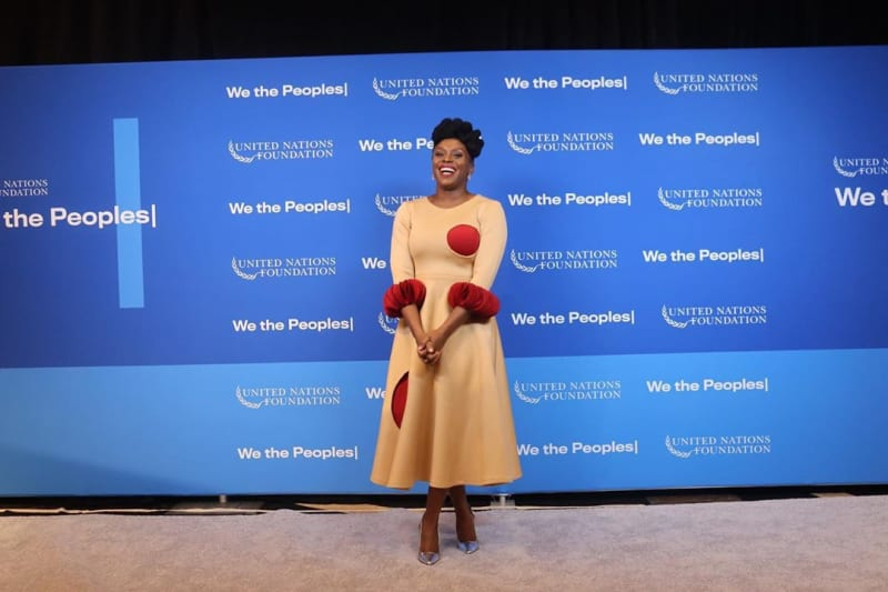 Chimamanda Adichie Honoured With The Global Leadership Award