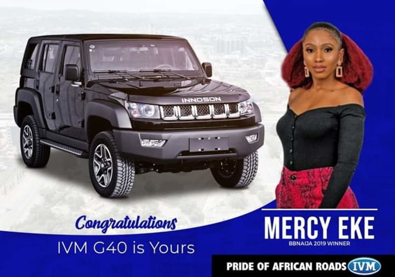 design and features of the ivm g40 presented to mercy, winner of bbnaija