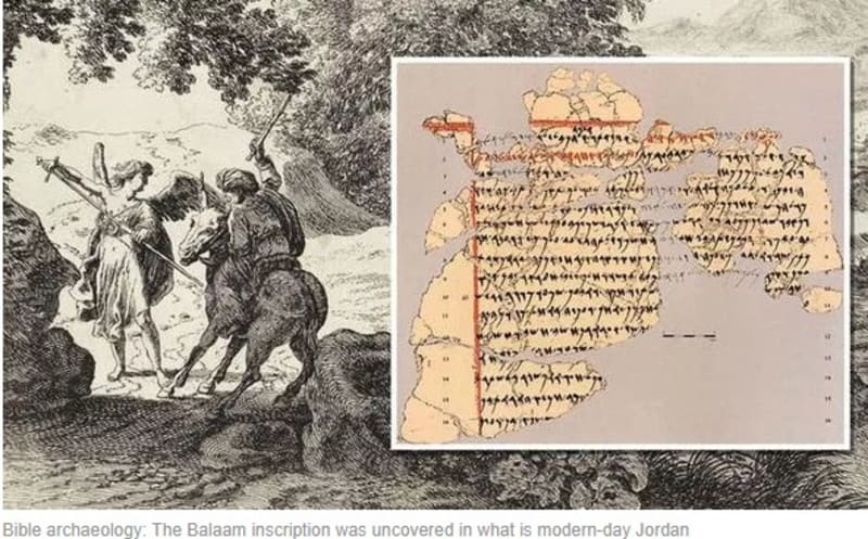 2800-Year-Old Inscription Affirms Bible Character, Balaam Whose Donkey Talked To