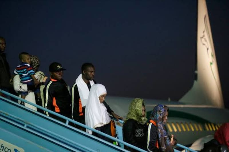 408 Nigerians Evacuated From India And UAE Arrive Nigeria