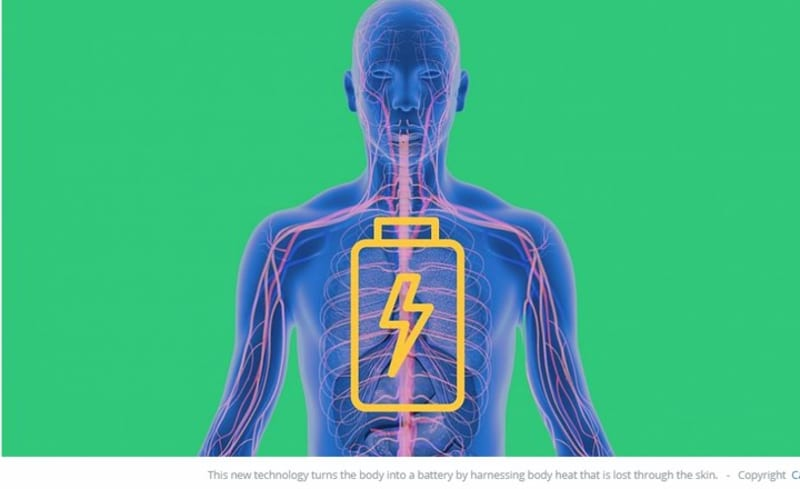 'Next-Generation' Wearable Tech Turns Your Body Heat Into Electricity