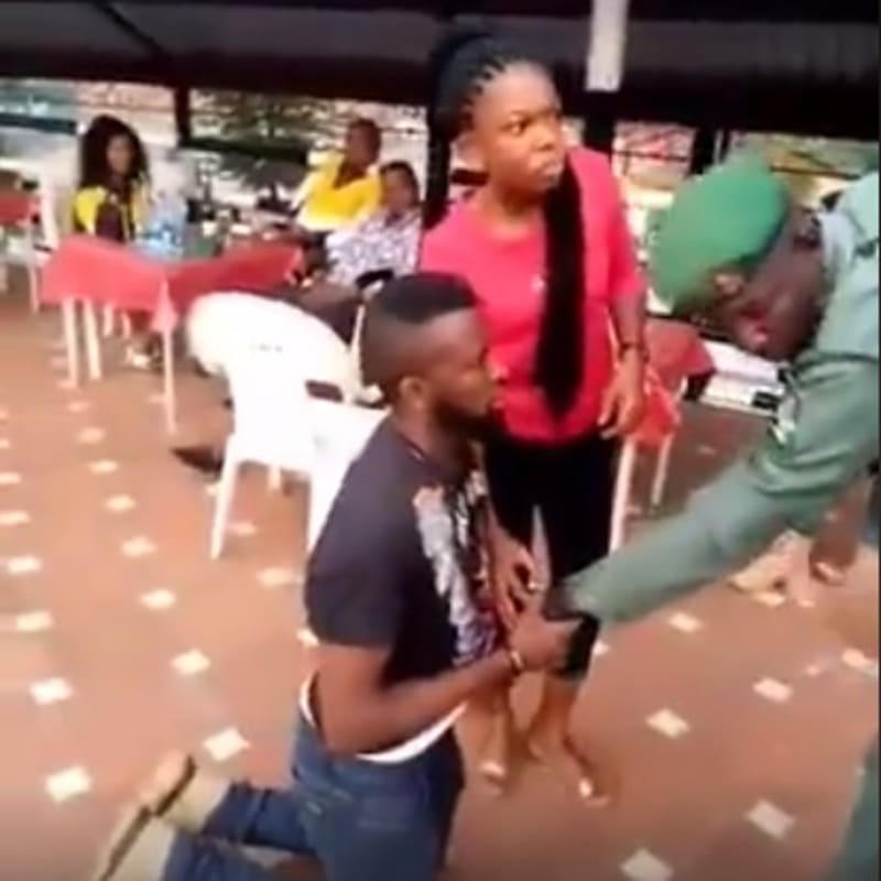 Policemen Help Execute A Lovely Proposal To 'The Most Loyal Girl' (Video)