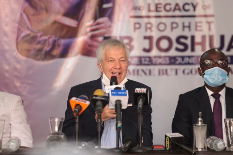 We Haven't Appointed TB Joshua's Wife As Successor – SCOAN