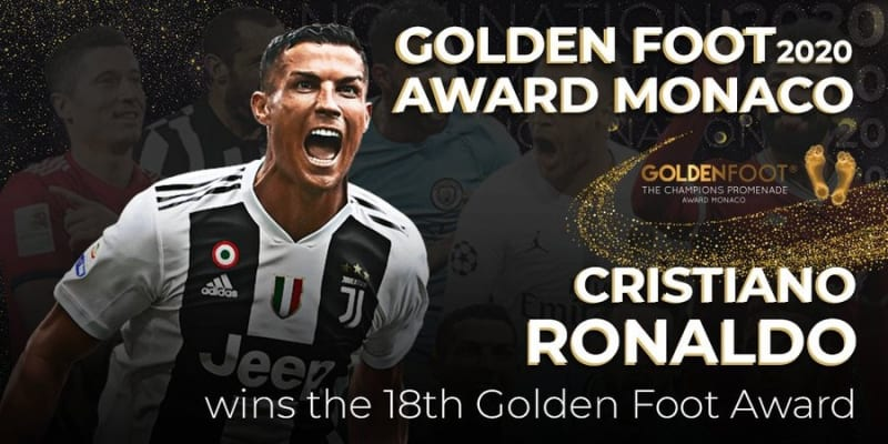 Cristiano Ronaldo Wins 2020 Golden Foot Award