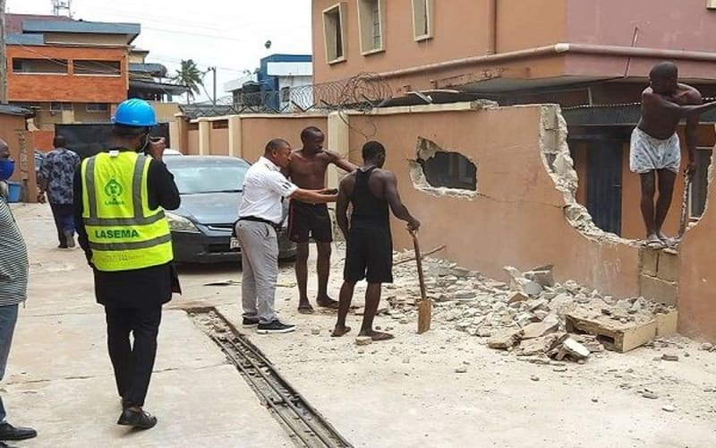 Lagos Government Begins Repair Work At Helicopter Crash Site