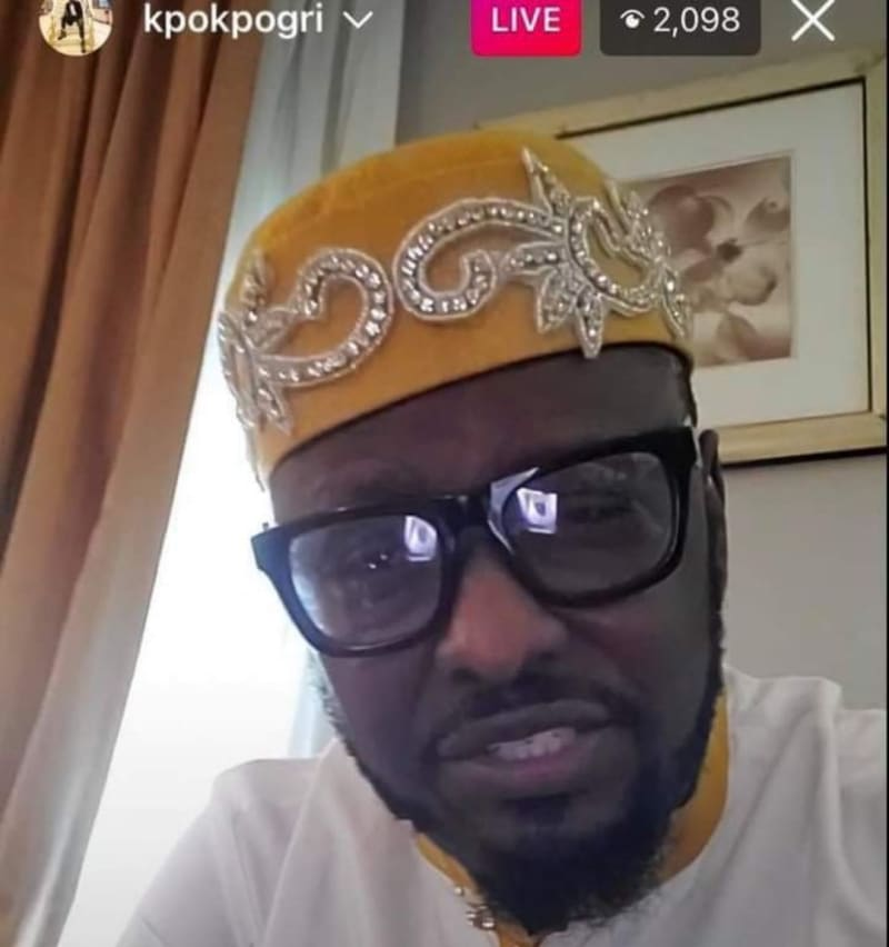 Prince Kpokpogri Denies Being Detained By DSS (Video)