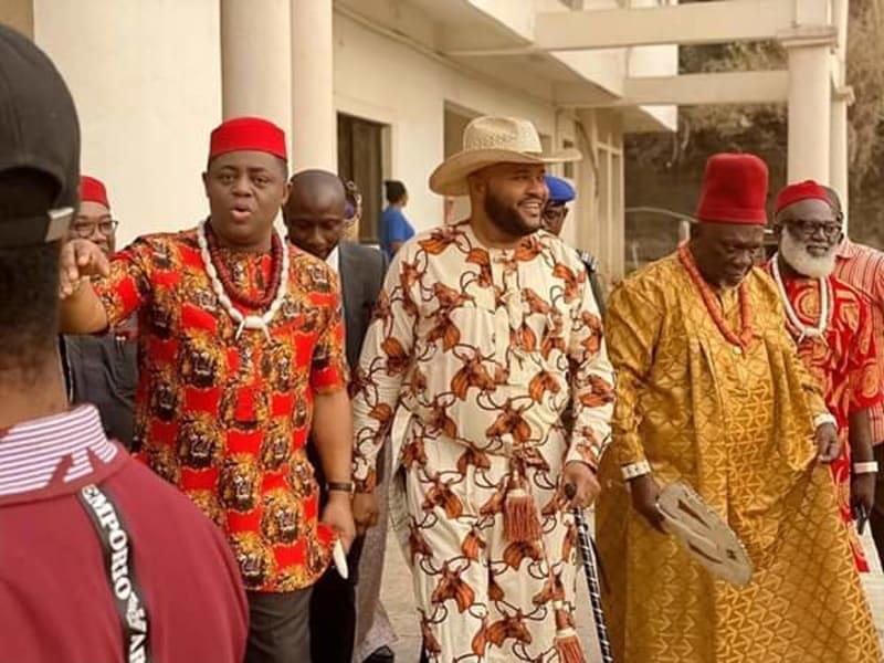 Femi Fani-Kayode Joins Nollywood (Photos)
