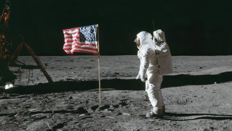China Becomes Second Nation To Plant Flag On The Moon After U.S