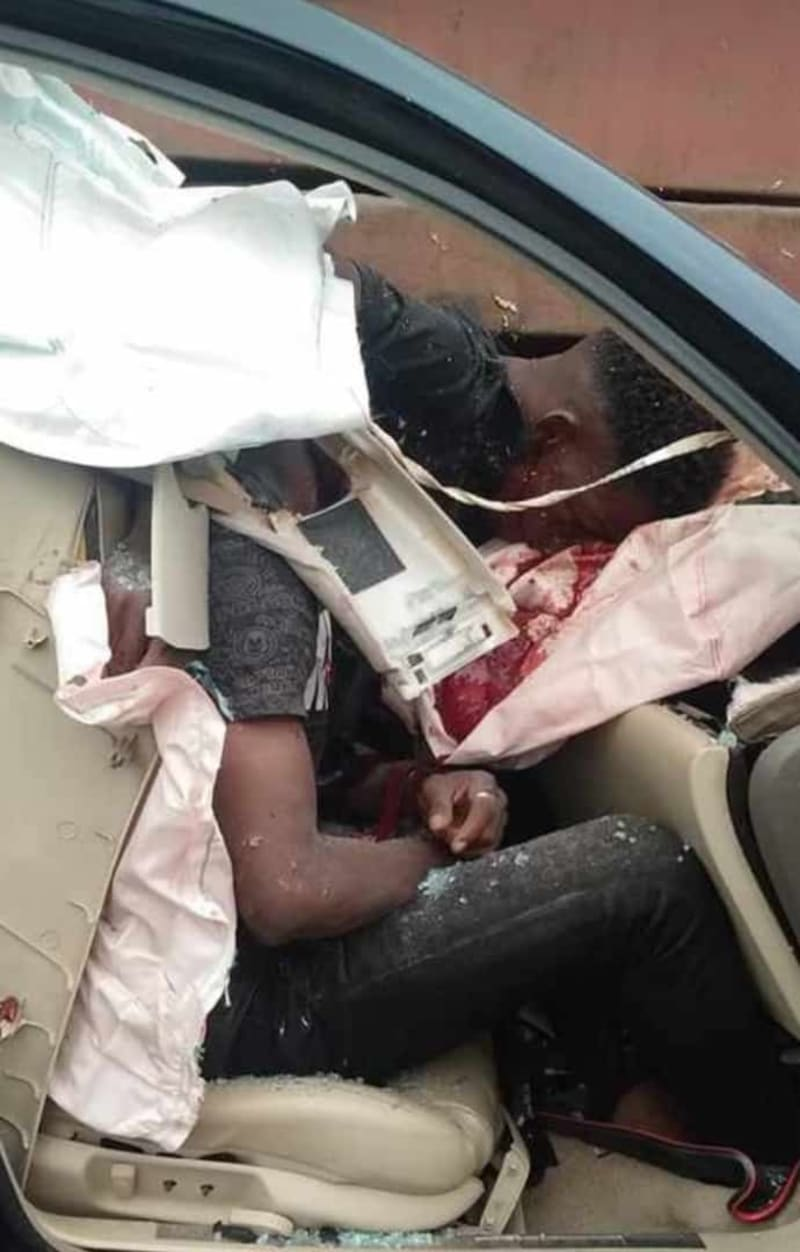 Footballer, Ifeanyi George Dies In A Ghastly Motor Accident
