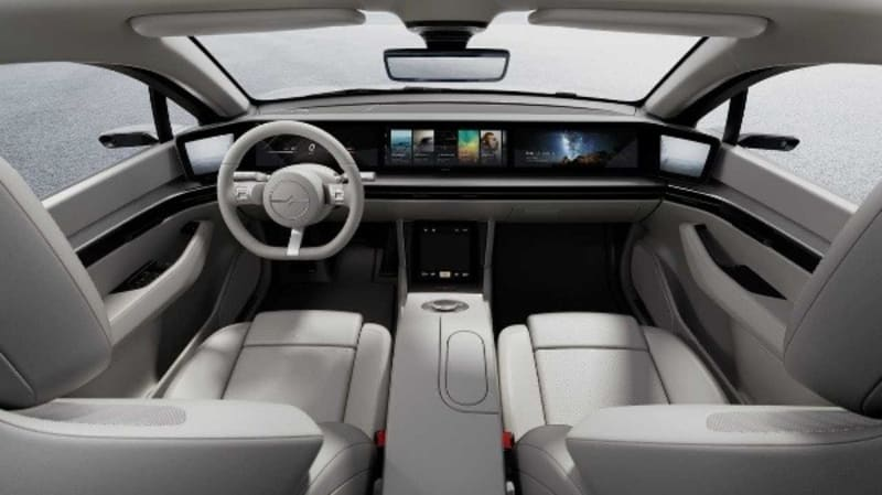 """Electronics Giant And PS4 Maker """"Sony"""" Unveils Its First Car, The Vision S"""