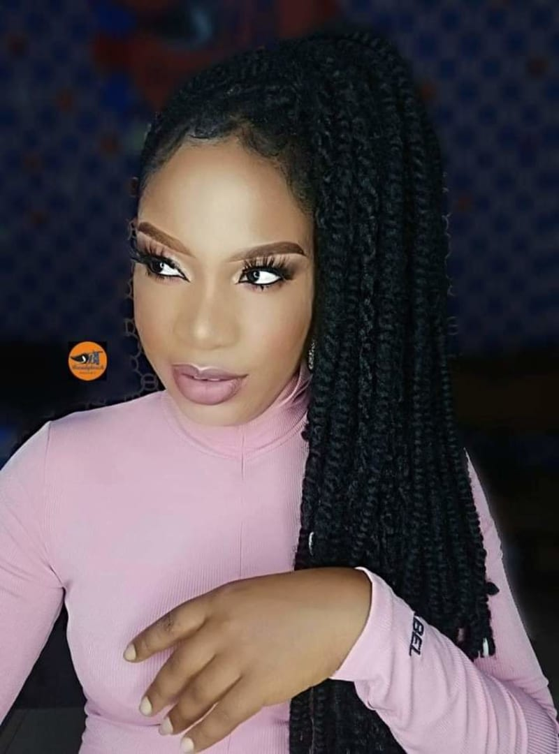 Makeup Artist Transforms Her Client To Actress Chika Ike