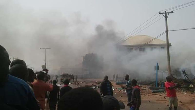 Gas Explosion Rocks Kaduna, Many Feared Dead