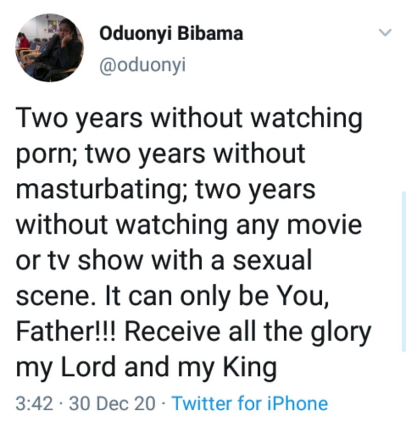 Married Woman Celebrates Two Years Without Masturbating, Watching Porn