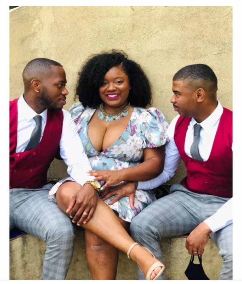 'Marrying 2 Men Is Better Than Marrying One Man' – Lady Flaunts Her 2 Husbands