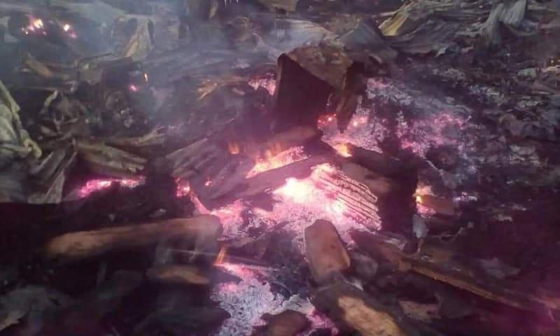 Fire Razes Down Wood Market 'Katako' In Jos (Video)