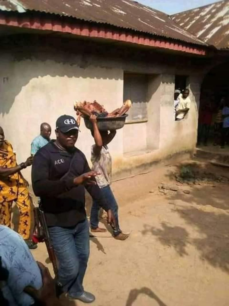 Woman Slaughters Her Mother In Akwa Ibom (Graphic Photos)