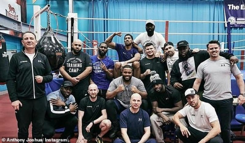 Meet the boxer who quit his job to help Anthony Joshua prepare for Ruiz Jr rematch