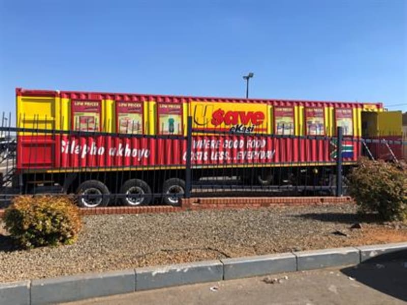 Shoprite Trucks Converted To Mobile Stores Following SA Unrest