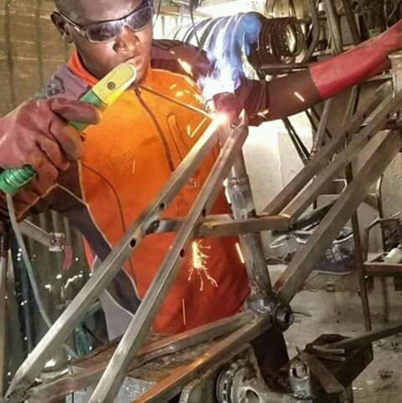 Nigerian Man Builds Modern Bicycles To Empower Citizens