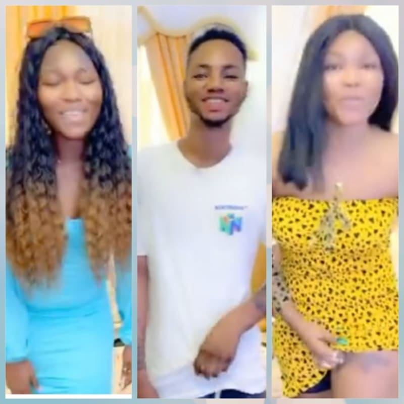 Bobrisky Gives Cash To 3 Fans Who Drew Tattoo Of Him On Their Bodies (Video)