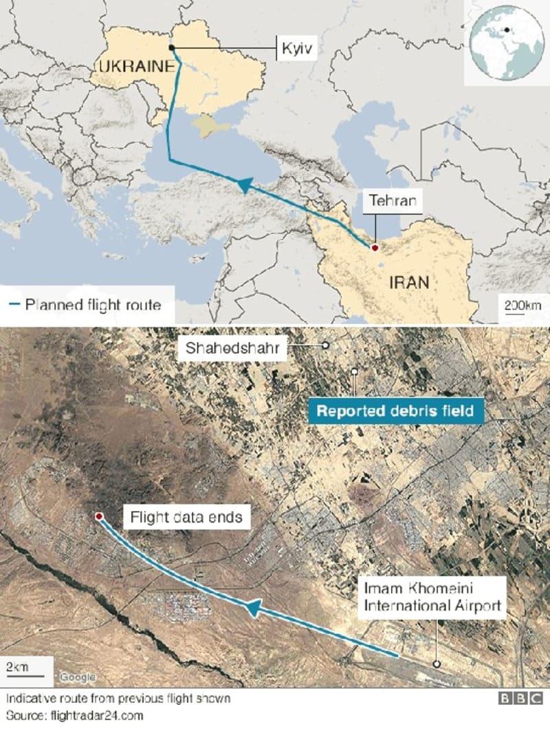 Iran Plane Crash: The victims Of Ukraine Flight By Nationality