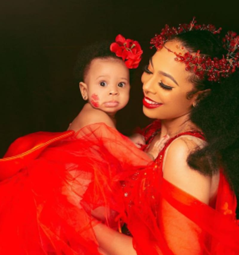 BBNaija Star, Tboss Weeps, Curses Troll Who Said Her Daughter Is Ugly
