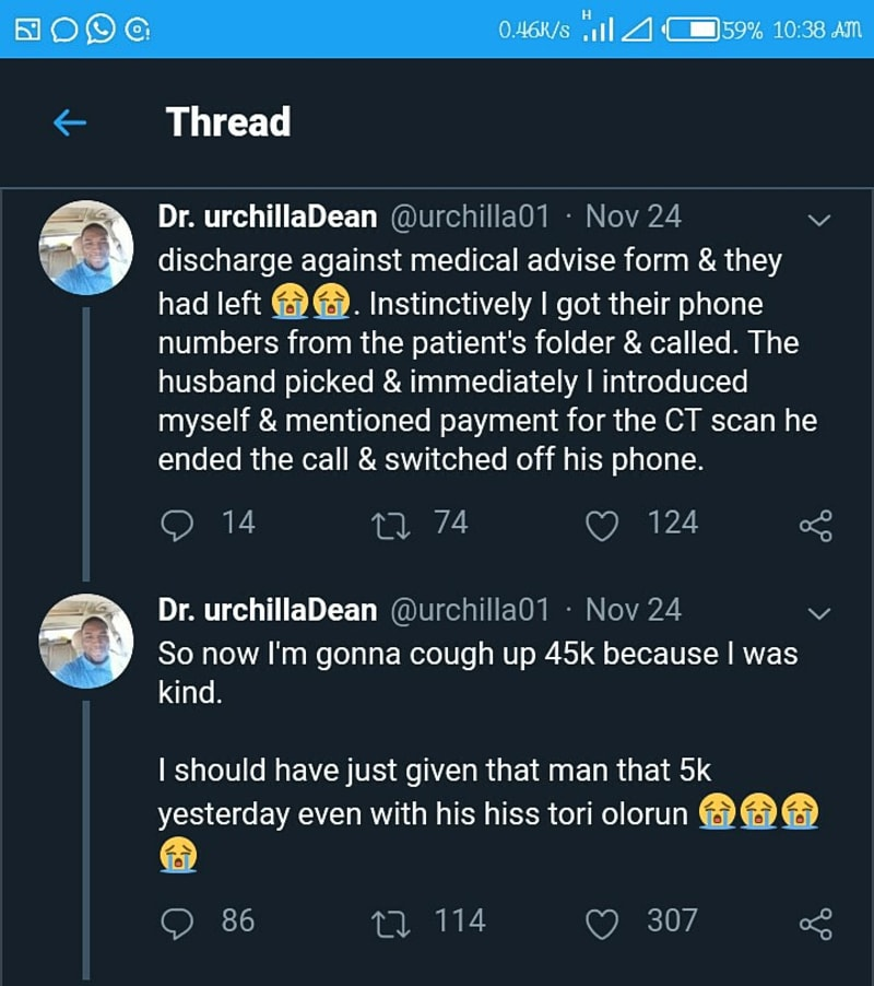 Doctors Share Their Experiences With Nigerian Patients