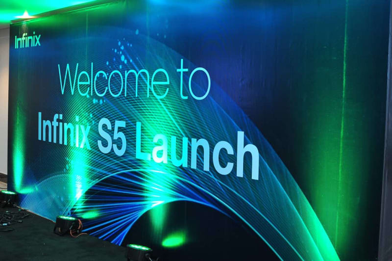 Photos From Infinix S5 Launch In Lagos