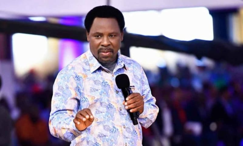 Late Pastor TB Joshua To Be Buried On July 9