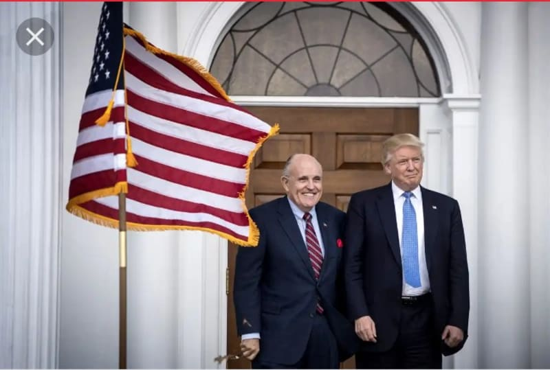 Trump Blames His Lawyer, Giuliani For Impeachment, Tells Staff Not To Pay Him
