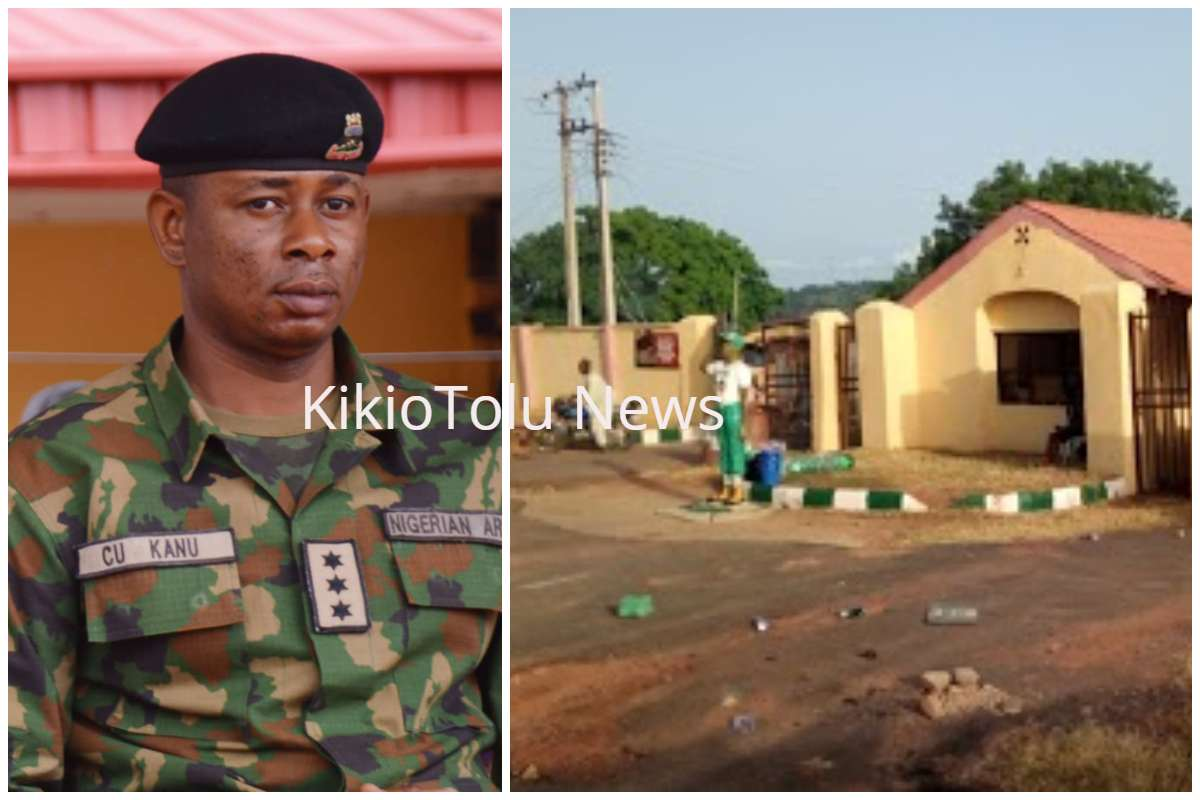 soldiers storm ondo nysc orientation camp, beat staff up (photos)