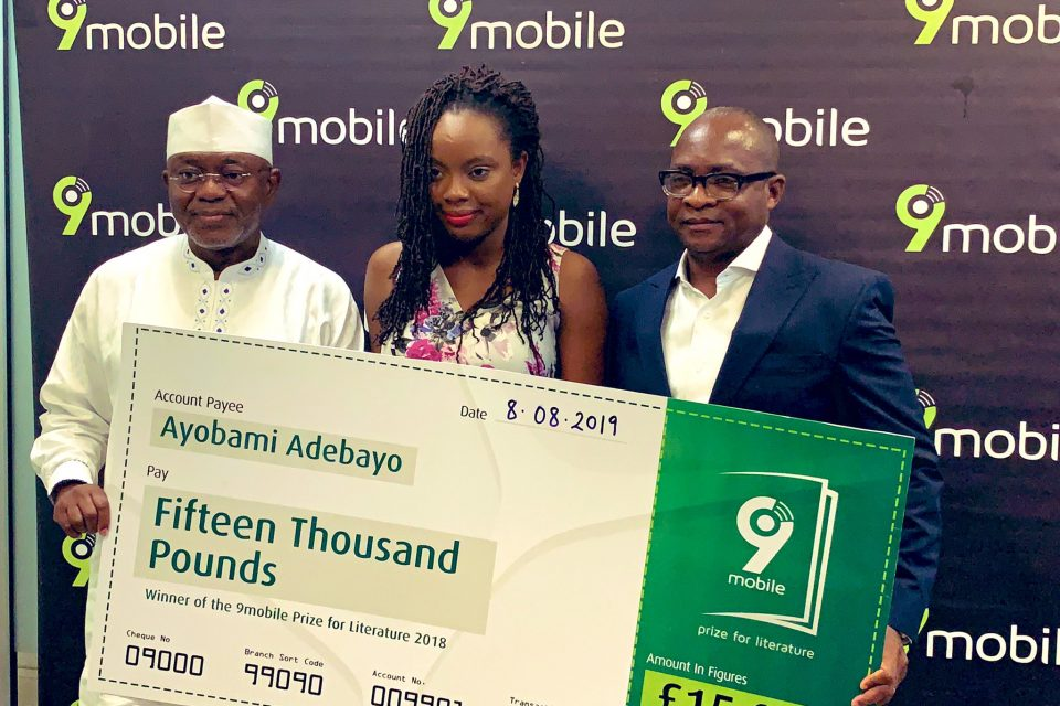 nigerian writer, ayobami adebayo wins £15,000 9mobile prize for literature