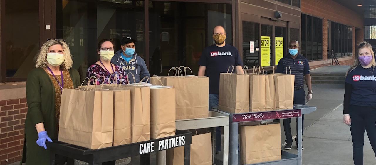 Feeding Community Meals for Heroes Program