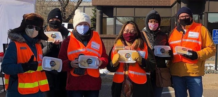 Feeding Community Meals for Voters & Volunteers