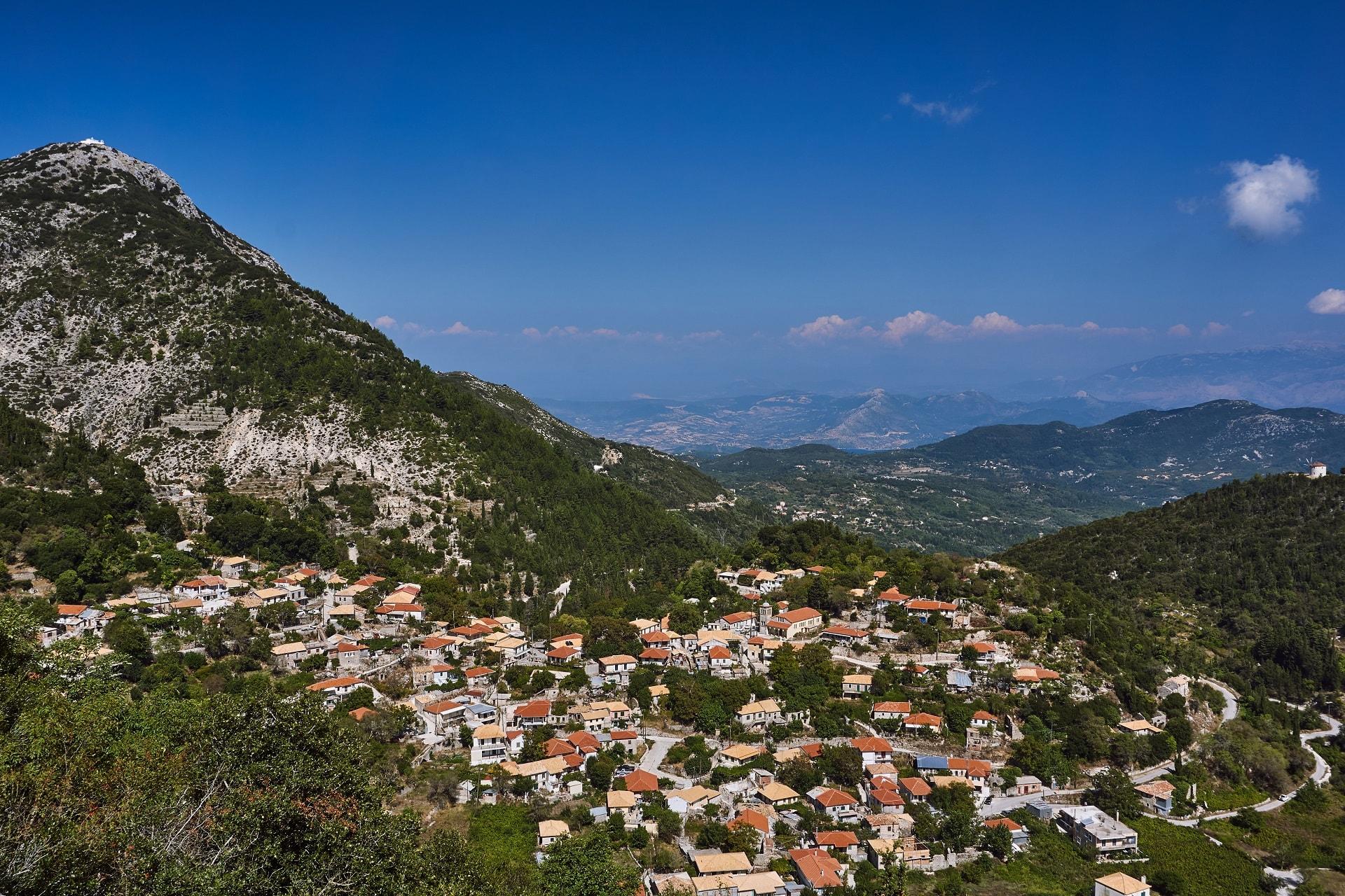 village of lefkada island