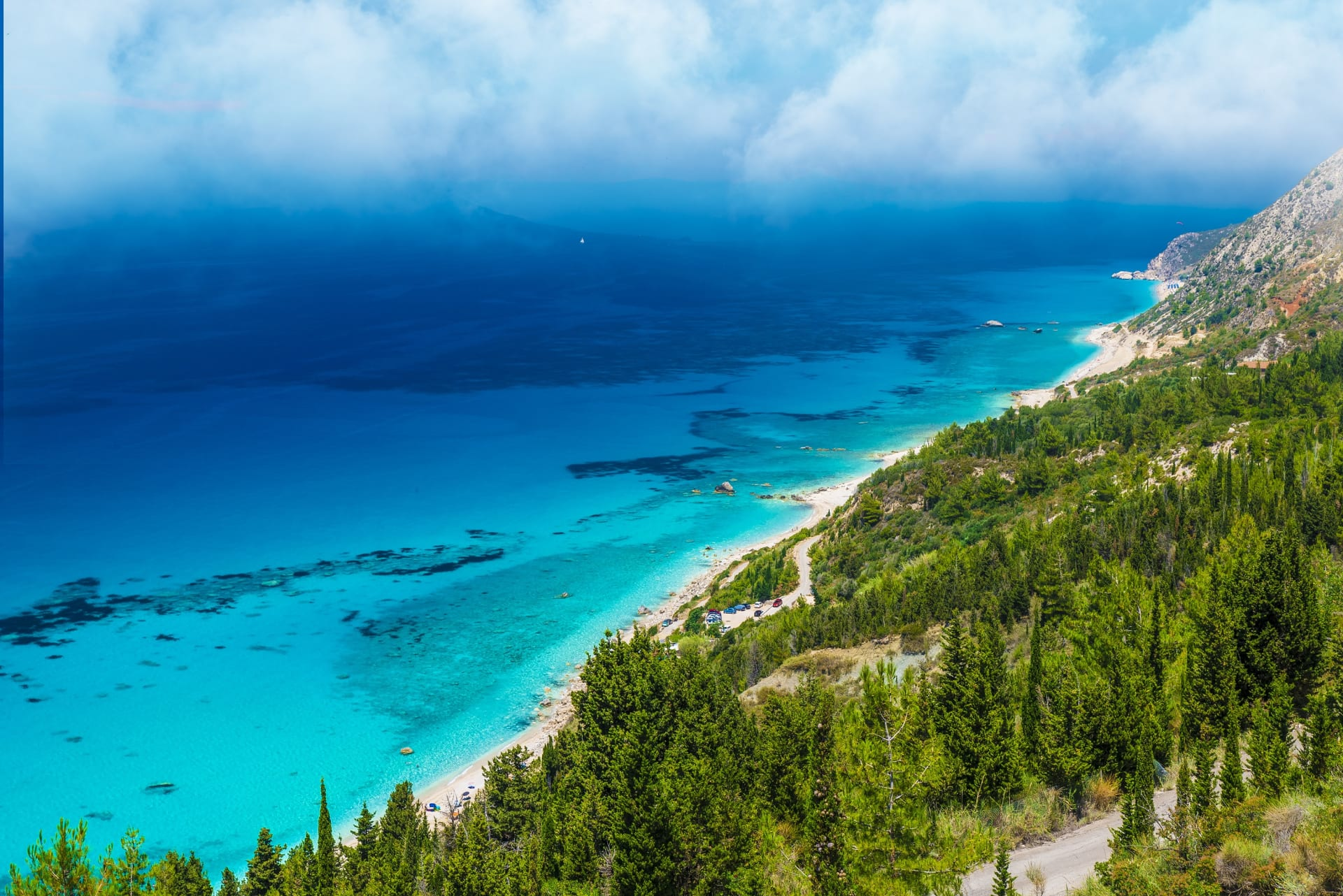 Kalamitsi beach, tirquoise water