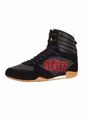 Boxing Boots Jabs - Size 42 | Black-Red