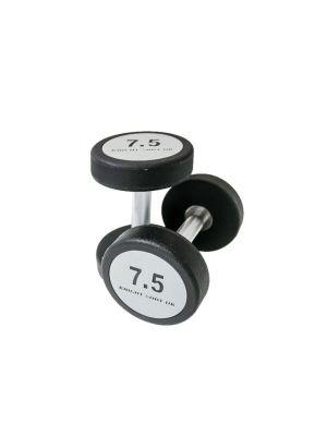 CPU Dumbbell + Round Steel Grey-Black | Pair