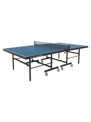 Club Indoor TT Table with Wheels - Blue Top