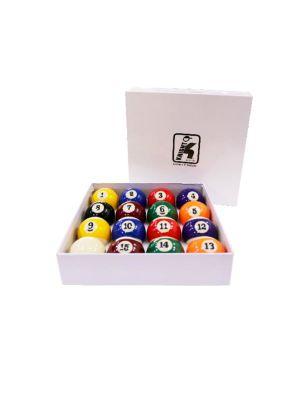 Billiard Ball Set 57 mm Billiard Ball Set 2-1/4 Inch