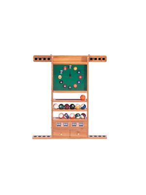 Wall Cue Rack with Lock 8 Cues