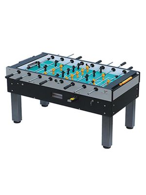 ST139 Commercial Use Coin-Operated Foosball Table With Black And Yellow Payers